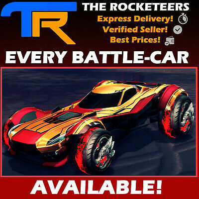 [PC STEAM] Rocket League Every Default Battle-Car NIMBUS ZSR GT Maverick GP etc