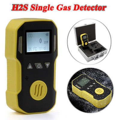 BH-90A H2S Hydrogen Sulfide Single Gas Detector Real-time Data Monitor Tester AU
