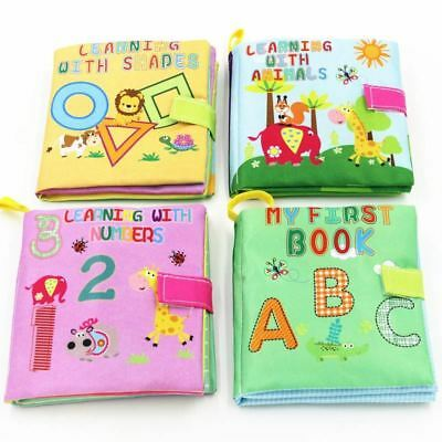 Baby Toys Soft Cloth Books Infant Educational Stroller Toy Bed Baby 0-36 Months