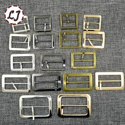 10pcs Silver Bronze Gold Square Metal Shoes Bag Belt Buckles Decoration Sewing