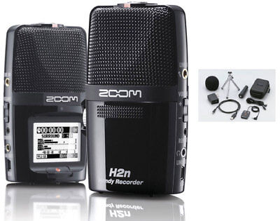 Zoom H2n Handy Recorder w/Accessory Pack