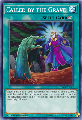 Yu-Gi-Oh! Called by the Grave - FLOD-EN065 - Common - NM - 1st Ed.