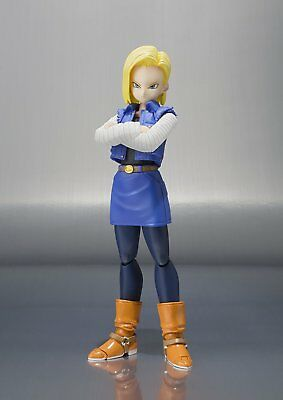 NEW Dragon Ball Z Bandai Tamashii Nations S.H. Figuarts Android No. 18 Figure