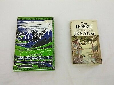The Hobbit or There and Back Again by J.R.R. Tolkien (1966, Hardcover) - 29th