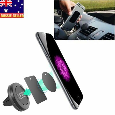 Magnet Air Vent Mount Holder Stand for Mobile Cell Phone iPhone GPS Gift H5R