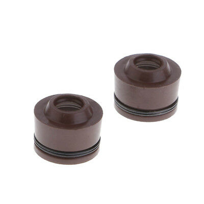 2 Pieces Valve Stem Seals for GY6 50cc 80cc 125cc 150cc Scooter Moped