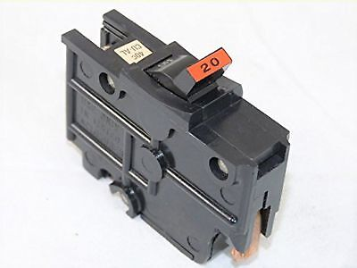 NA20 FEDERAL PACIFIC FPE 20 AMP STAB-LOK 1 POLE BREAKER THICK SERIES 20A ... New