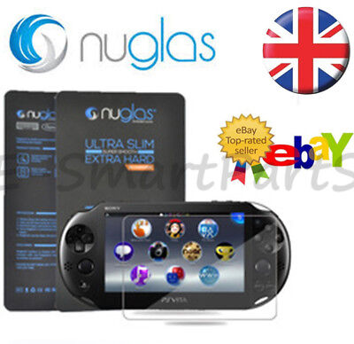 NUGLAS® For Sony PlayStation PS Vita PSV 1000 Tempered GLASS Screen Protector