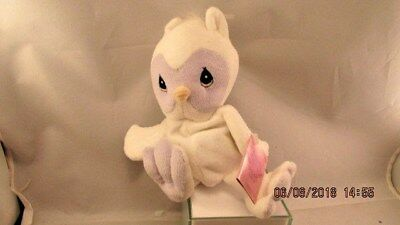 Precious Moments Tender Tails Plush  White Owl   1998 ENESCO Tag