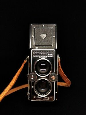 Rollei Magic 1. Immaculate condition and fully tested and working TLR.