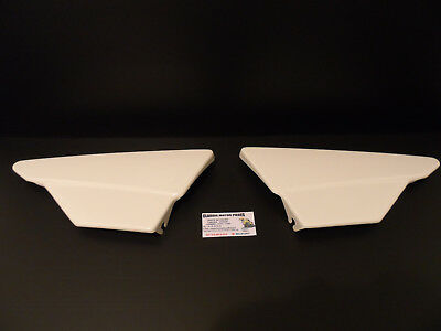 125 Dtmx 1986 Side Covers Right And Left White