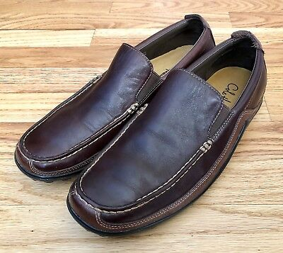 a9260f33940 Cole Haan Men s 8 M Tucker Venetian C04059 Leather Loafer Slip-On Moc Toe