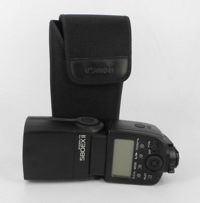 Canon Speedlite 580Ex Ii With Soft Case Speedlight Flash