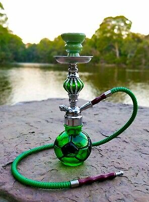 Hookah Shisha Pipe with Case Free Flavour, Charcoal, Mouth Filters