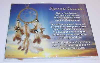 Feather Dream Catcher New in Package Gift Hanging Ornament