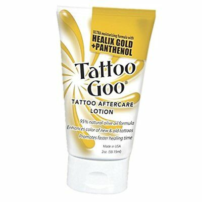 Tattoo Goo Original Aftercare Lotion Tube Healing Salve 2 oz