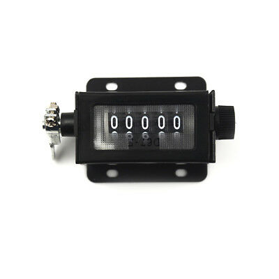 D67-F 0-99999 5 Digit Resettable Mechanical Pulling Count Counter YJ