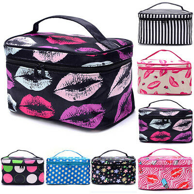 Women Cosmetic Bags Make Up Case Travel Toiletry Wash Organizer Portable Pouchs