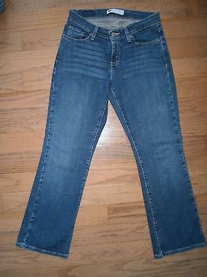 6f410e14cd6 Womens Levis 529 Curvy Boot Cut Jeans 8 Short Stretch Medium blue wash