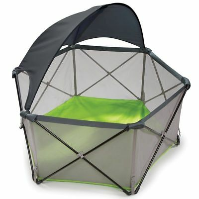 Summer Infant Pop 'N Play Portable Play Yard Playpen Outdoor Gym Canopy Crib New