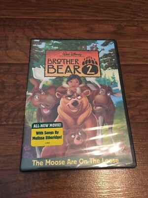 Disney's Brother Bear 2 Dvd 2006 Buena Vista Seal Stamp Authentic - New