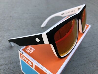 e72a27868e New Authentic Spy Discord Whitewall Happy Grey Green Red Spectra Sunglasses