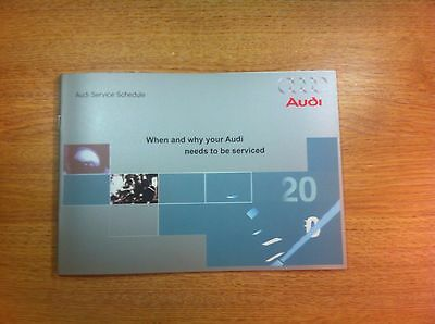 audi service book brand new not duplicate covers all audi's petrol and diesel...