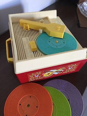 Fisher Price Vintage Music Box - Record Player