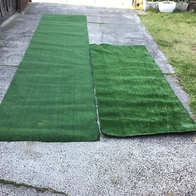 Artificial grass long roll in good condition