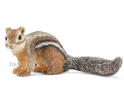 Schleich 14722 Chipmunk Toy Wild Animal Model Figurine New for {RETIRED} - NIP