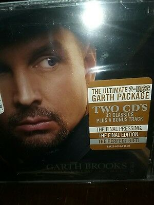 Garth Brooks The Ultimate Hits Greatest Hits Brand New & Sealed 2 CD Music Song