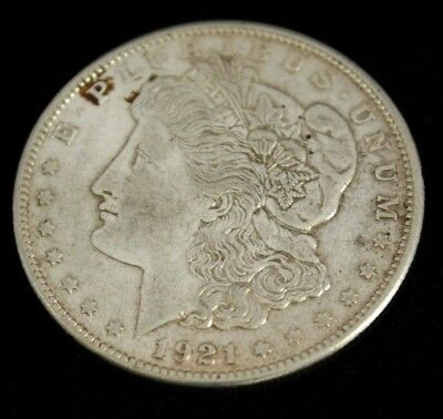 1921 S Morgan Dollar - Silver -  Choice About Uncirculated Condition