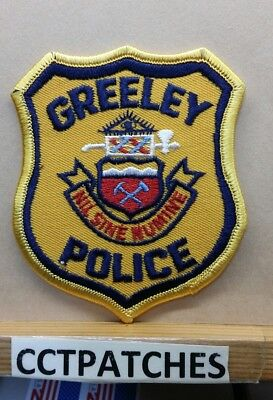 Greeley, Colorado Police Shoulder Patch Co