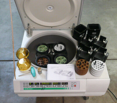Sorvall Legend RT Benchtop Centrifuge, w LOADS of Extras, Temp Control Too!