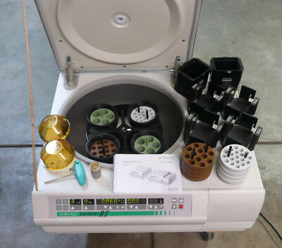 Sorvall Legend RT Centrifuge, Fab Condition w LOADS of Extras, Temp Control Too!