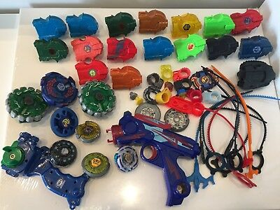 Beyblade Metal Fusion Launchers Libra Tops & Parts Hasbro Tomy Lot