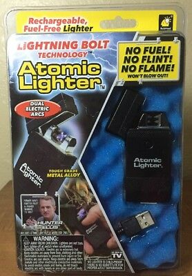 Atomic Lighter ❤️ As Seen On TV Rechargeable Fuel Free Lighter New