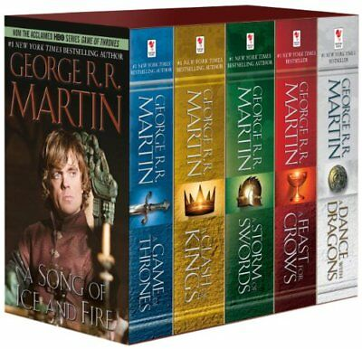 Game Of Thrones Complete Collection - George Martin eBOOK (Epub, Pdf, Kindle)