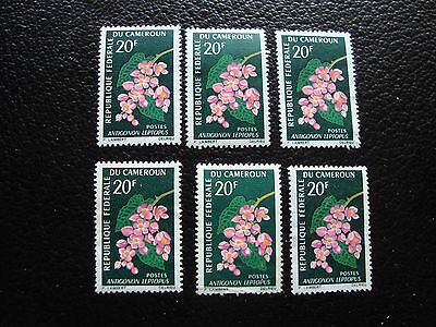cameroon - stamp yvert and tellier N° 424 x3 n and nsg (A03) stamp cameroon