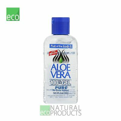 Fruit Of The Earth Natural Aloe Vera 100% Gel 56g