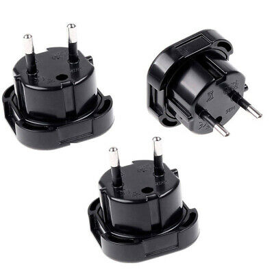 1/2/5/8/10Pcs Travel UK to EU Euro Plug Power Charger Adapter Converter Socket