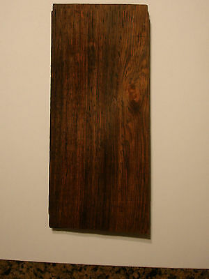 1- Rare Brazilian  Rosewood Veneer =Pre Ban Over 60 Years Old 1/42 Nos