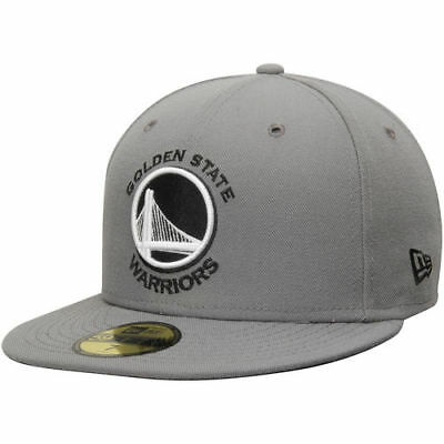 b12396a3 GOLDEN STATE WARRIORS New Era Gripping Vize 59FIFTY Fitted Hat ...