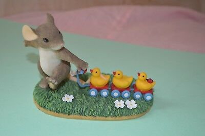 "Charming Tails "" Keep All Your Ducks in a Row "" By FITZ AND FLOYD -"