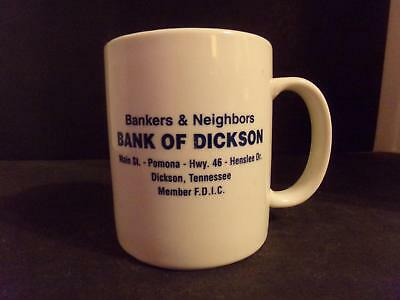 Bank Of Dickson Tennessee Coffee Cup Bankers & Neighbors   (Nk)