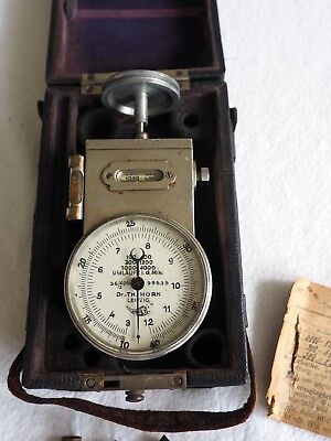 Dr. Th. Horn - Handtachometer in Originalschatulle