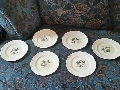 OLD ROMAN by Homer Laughlin EXTREMELY HTF  6 bread or salad plates