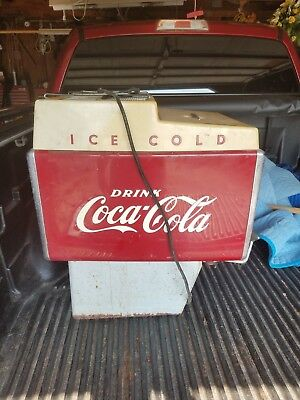 Vintage Coca Cola Dispenser Soda Fountain Counter Machine Coke  AS IS