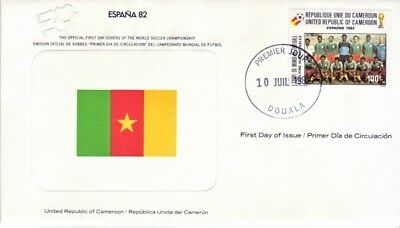 Cameroon - World Cup Soccer, Spain '82 (FDC) 1982