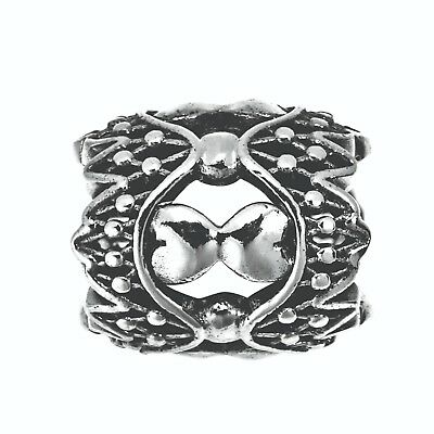 Lovelinks Sterling Silver and Rhodium Plated Charm 22801568